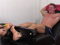 Muscle Hunk Viggo Tickled Crazy My Friends Feet