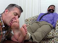 Tied Up and Worshiped My Friends Feet