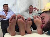 Ricky Worships Duo My Friends Feet