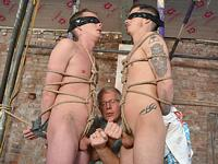 Double Dick Fun Boynapped