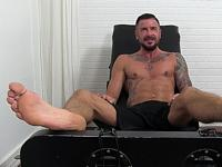Dolf gets Tickled Naked My Friends Feet