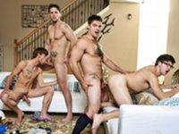 The Purge Jizz Orgy