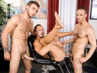 Barber Shop Sex Part 2 Extra Big Dicks