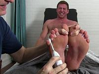 Naked Tickle Torture at My Friends Feet
