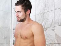 Straight Roommate Shower Bait