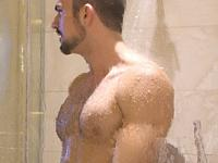 During Yoga Shower Bait