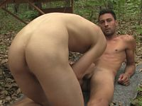 Lukas Novy and Andrew Kitt Gay Massage Table