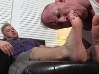 Bruiser Foot Worshiped My Friends Feet