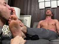Justin Worships Sean My Friends Feet