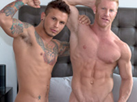 Fiancees and Johnny American Muscle Hunks