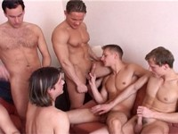 Seven on One Gang Bang Experiences 2 Scene 2 Male Digital
