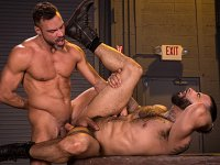 Seedy Alleyway Raging Stallion