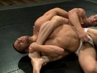 Rusty Stevens and Tommy Defendi Naked Kombat