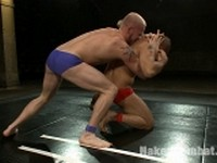 Luke Riley and Leo Forte at Naked Kombat