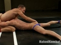 Shane Frost and Zach Alexander at Naked Kombat