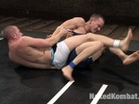 Christian Owen and Lexx Scott at Naked Kombat