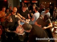 More Josh West and DJ at Bound in Public