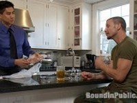 Brenn Wyson and Josh West with Nick Moretti at Bound in Public