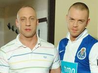 Duke M and Dean M Hard Brit Lads