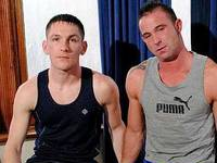 Ross and Billy Roberts Hard Brit Lads