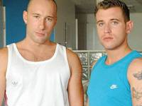 Ed Fox and Jed James Hard Brit Lads
