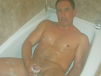 Hunk Jerking Off in the Shower Big Muscles Big Cocks