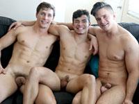 Julian Double Teamed Gay Hoopla