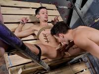 Xavier and Jack Boynapped
