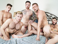 Gaymates Part 3 Jizz Orgy