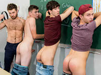 One Hour Detention French Twinks