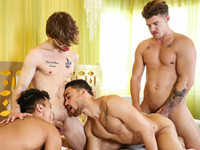 The Heist Part 3 Jizz Orgy