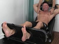 Muscleman Joey Tickled My Friends Feet