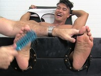 Ken Tickled Crazy My Friends Feet