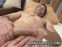 Latino Stud Jerking his Cock for You at Man Solos