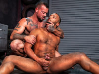 Chained Up Raging Stallion