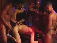 White Boi Gang Banged Orgy Studs