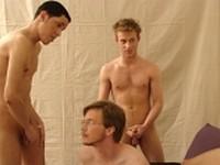 Taz Orgy Clip 3 from Broke Straight Boys