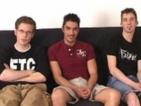 Three Straight Boys Fucking from Broke Straight Boys