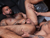 Tattooed Fuckers Raging Stallion