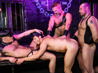 Leather Bar Drill My Hole