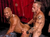 The Red and the Black Clip 4 at Raging Stallion
