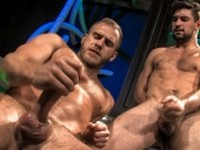 Dirty Director Benjamin Godfre and Shawn at Falcon Studios