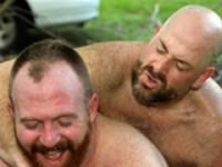 Steve Ellis and Andrew Mason at Bear Films