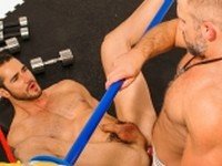 Dirk Caber Tops Dean Monroe at Bound Jocks