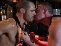 Scott Hunter and Issac Jones at World of Men