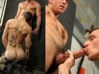 Paddy OBrian and Miles Racer at UK Naked Men