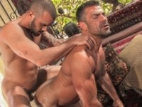 Anal Bodybuilder Hairy international Tattoos butts Raging Stallion