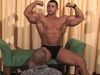 Yummi and Melvin Clip 2 at Power Men