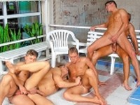 Another Orgy at Jocks Studios