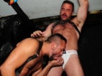 Tiko and Pete Finland at Alpha Males